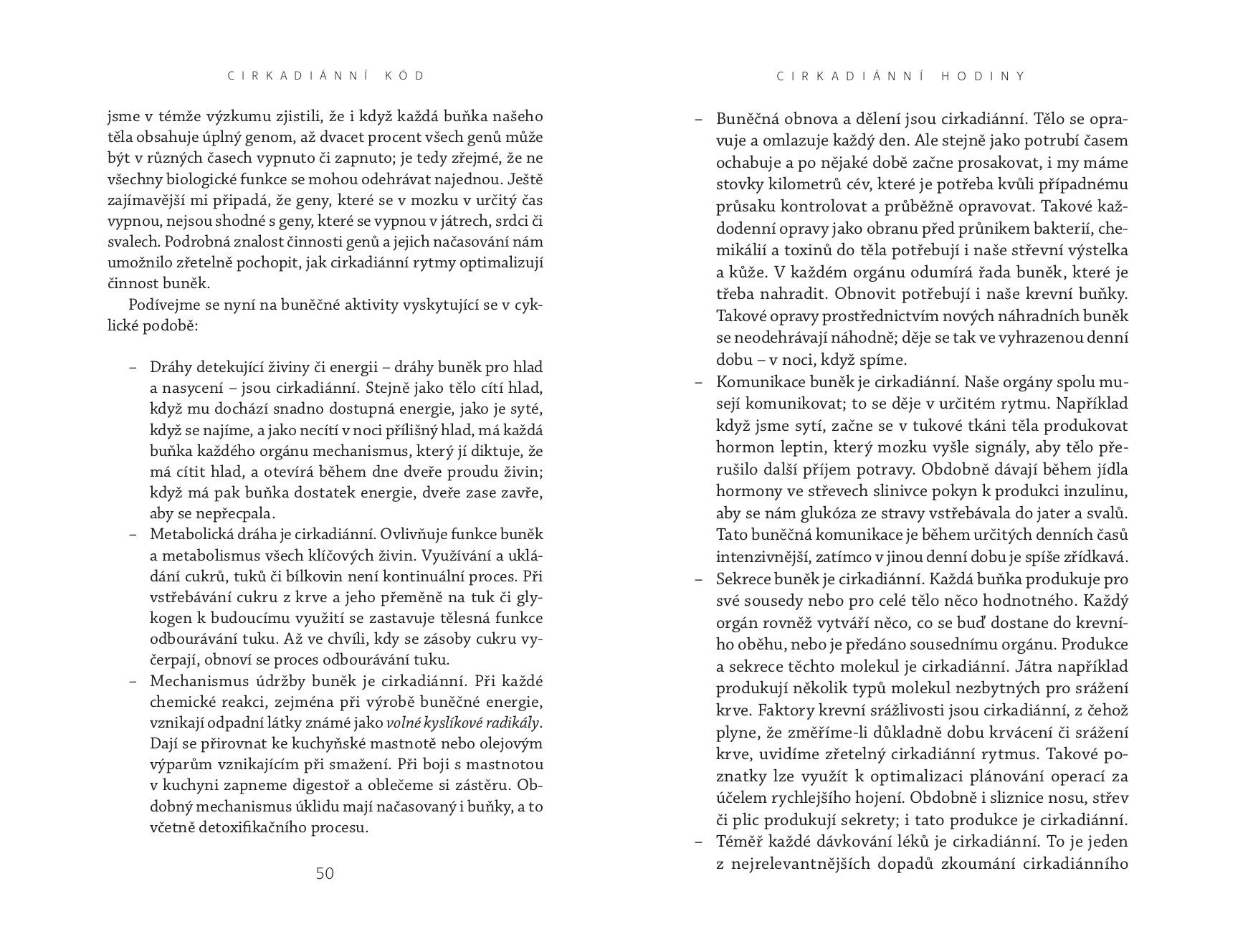 Cirkadianni Kod The Circadian Code Satchin Panda Jan Melvil Publishing