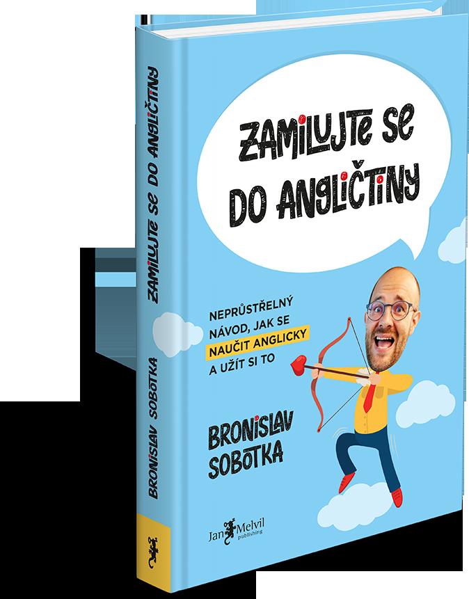 Kniha Zamilujte se do angličtiny