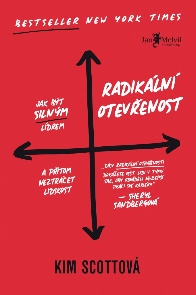 Radikální otevřenost - Be a Kick-Ass Boss Without Losing Your Humanity, Kim Scottová